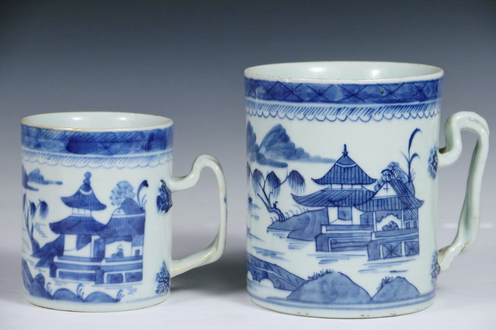 CANTON PORCELAIN - (5) Pieces of 19th c. Chinese Export - 4