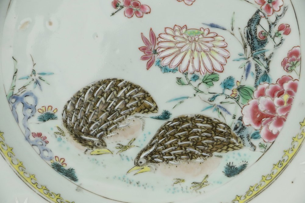 PLATE - 18th c. Chinese Export Porcelain Famille Rose - 5