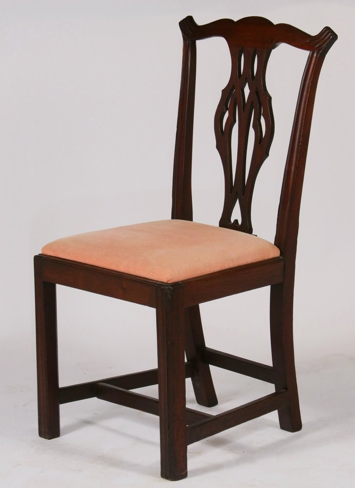 (SET OF 6) CHIPPENDALE DINING CHAIRS - Assembled Set of - 2
