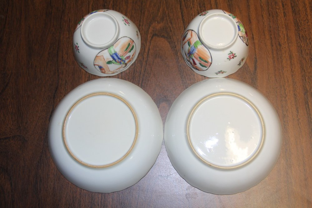 (5 PCS) CHINESE EXPORT PORCELAIN - All late 18th c., in - 5