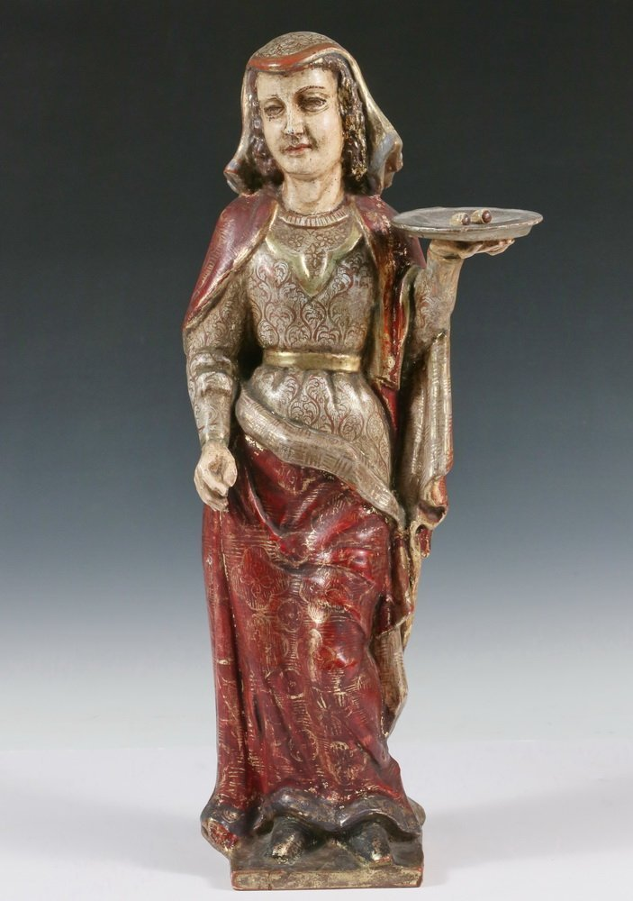 CENTRAL AMERICAN SANTOS - 'Sa. Lucia', 19th c.,