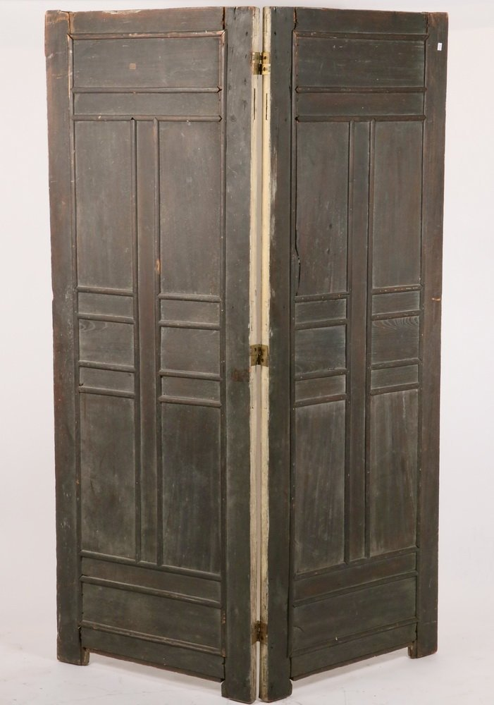 TWO-PANEL CHINESE FOLDING SCREEN - Room Divider made up - 6