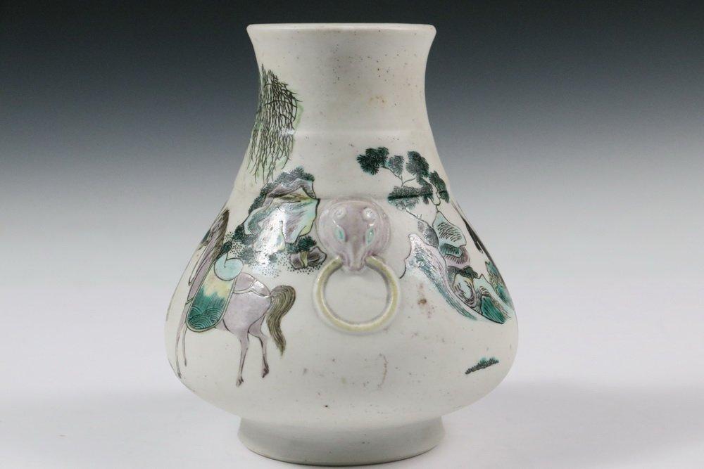CHINESE PORCELAIN VASE - Qing Dynasty, Yongzheng - 2