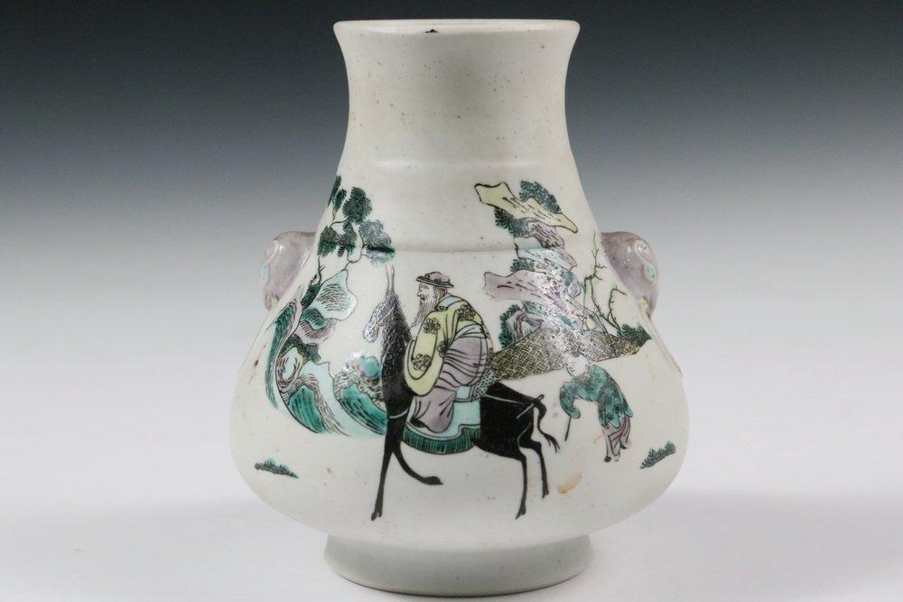 CHINESE PORCELAIN VASE - Qing Dynasty, Yongzheng - 3