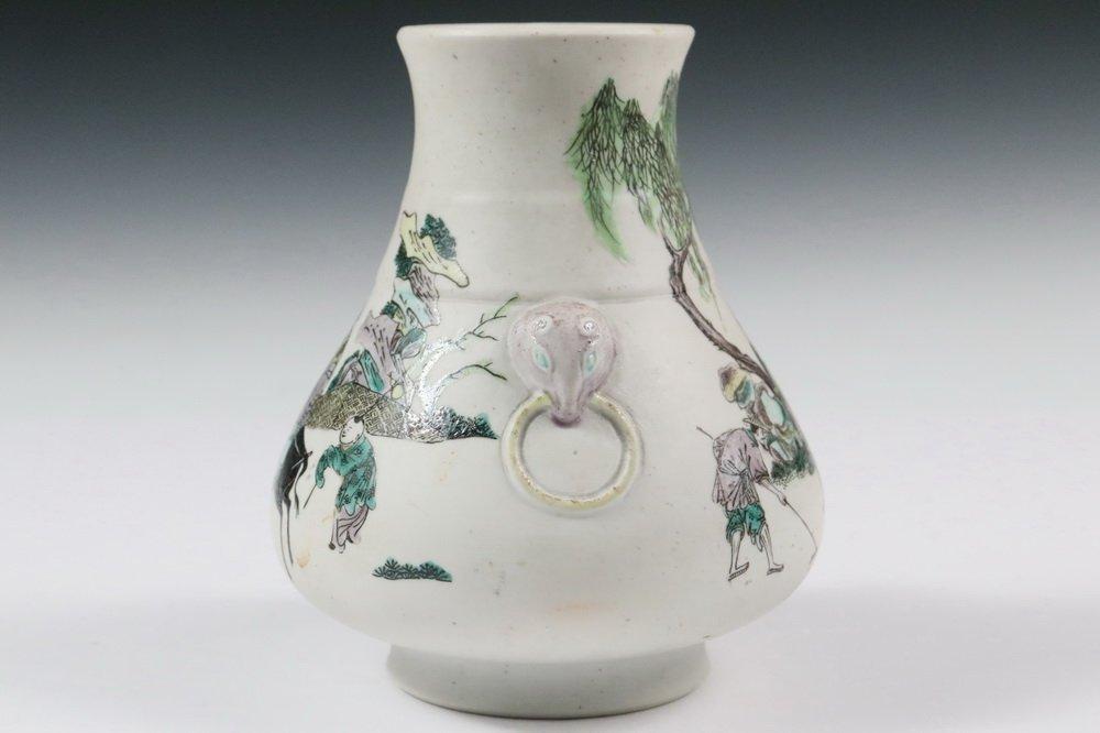CHINESE PORCELAIN VASE - Qing Dynasty, Yongzheng - 4