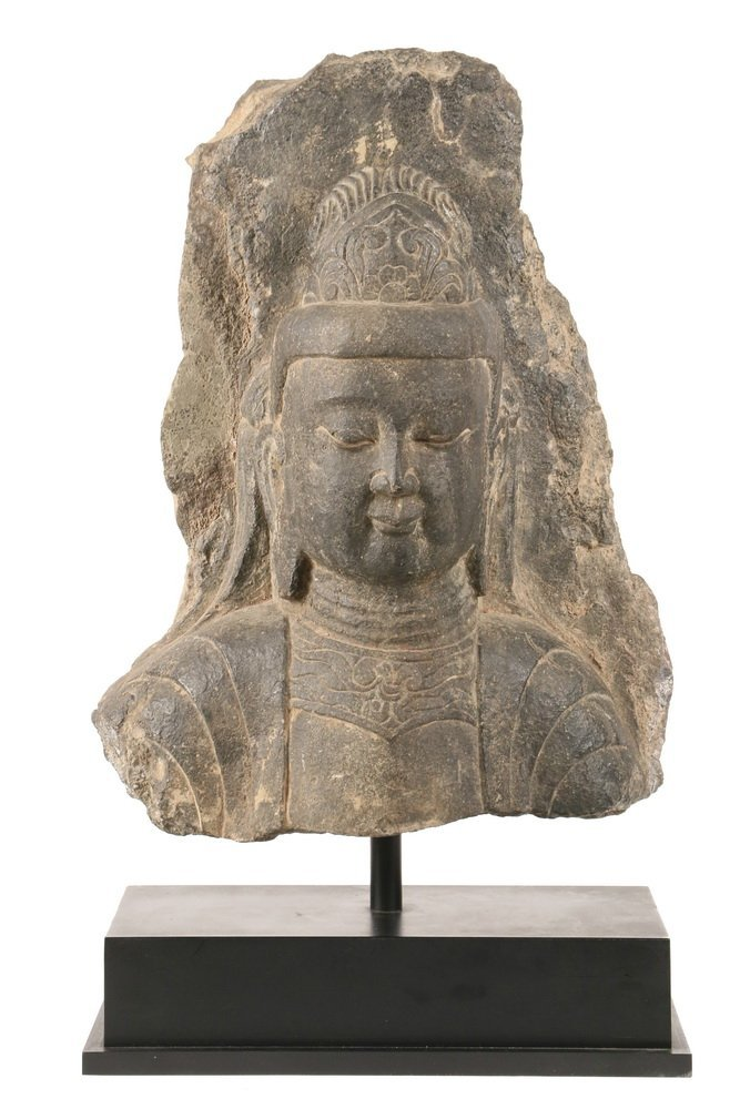 ANCIENT CHINESE ARCHITECTURAL FRAGMENT - Portrait of