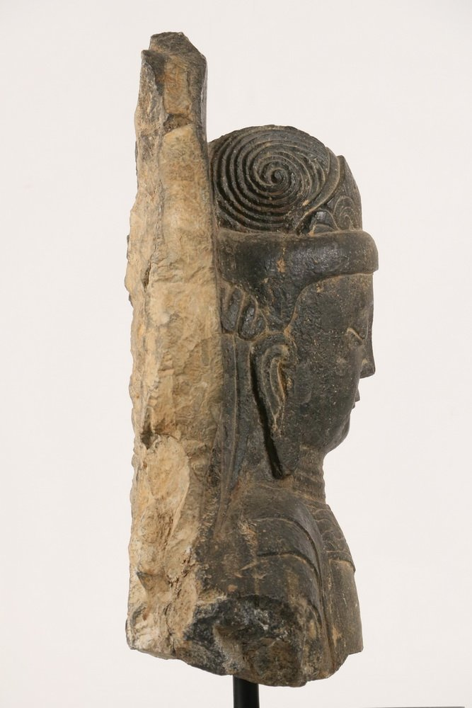 ANCIENT CHINESE ARCHITECTURAL FRAGMENT - Portrait of - 3