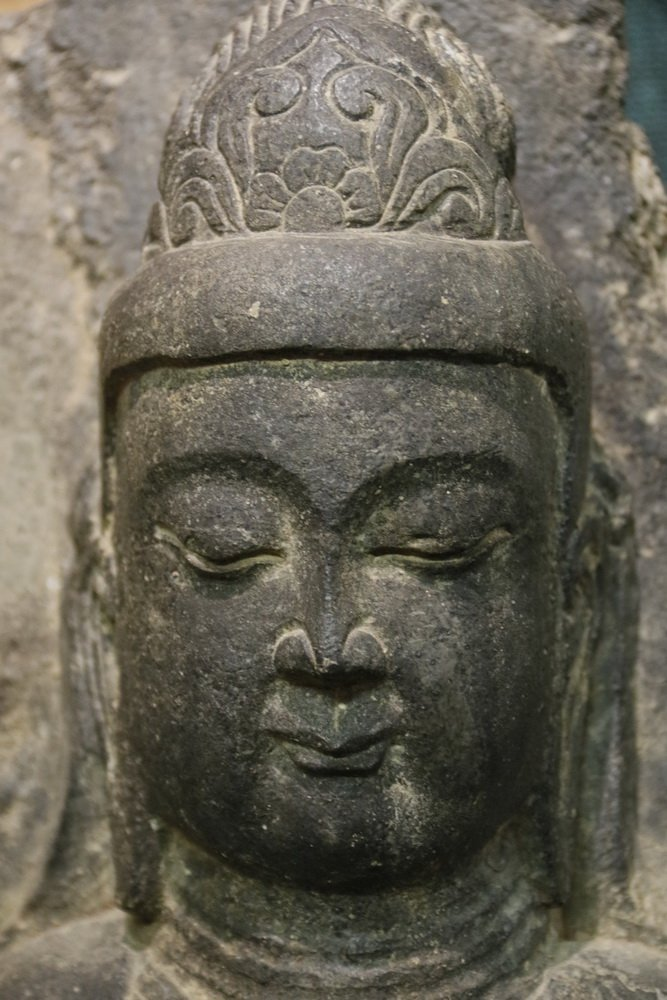 ANCIENT CHINESE ARCHITECTURAL FRAGMENT - Portrait of - 6