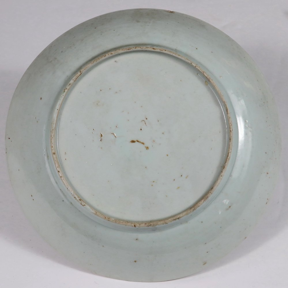 (6) CHINESE EXPORT PLATES - Late 18th c. Famille Rose, - 2