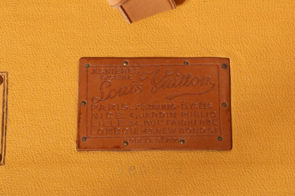 1920s LOUIS VUITTON STEAMER TRUNK - The iconic Louis - 3