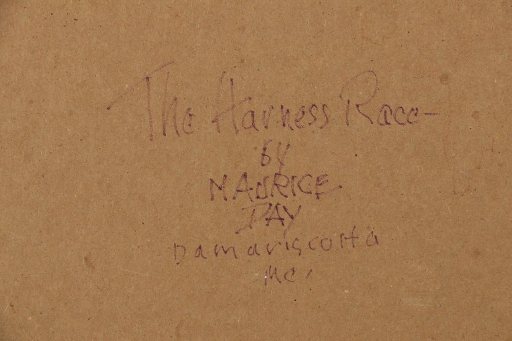 """MAURICE 'JAKE' DAY (ME, 1892-1983) - """"The Harness - 4"""