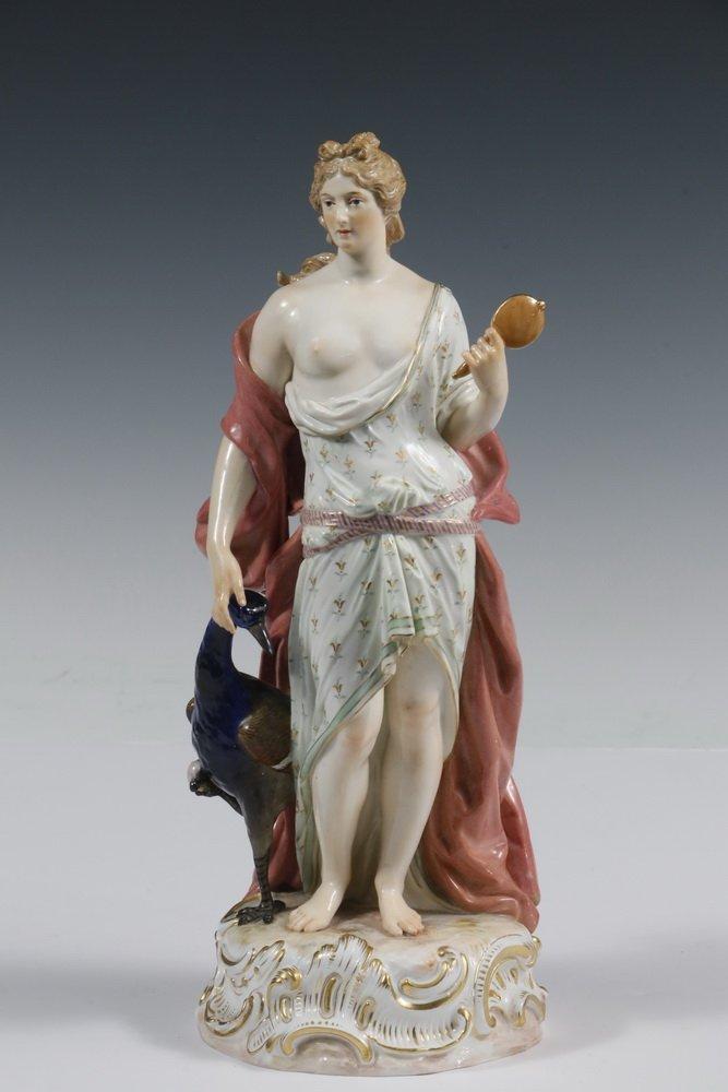 RARE MEISSEN PORCELAIN FIGURINE - Standing Figure of