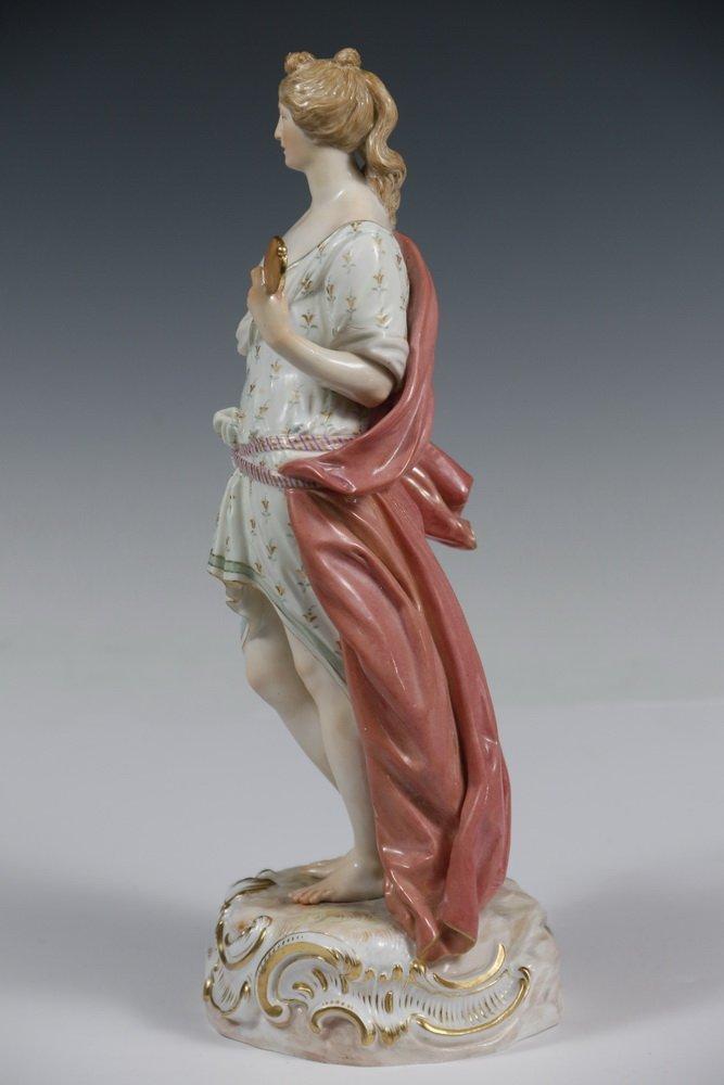 RARE MEISSEN PORCELAIN FIGURINE - Standing Figure of - 6