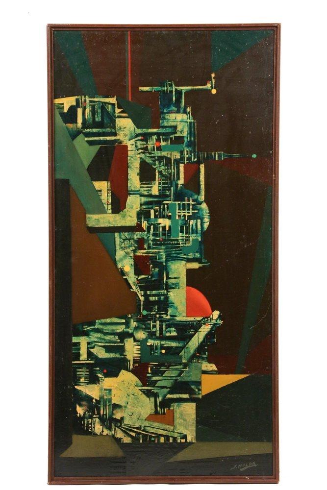 """STANY HOLDA (Poland/Belgium, 1919-1981) - """"Machine"""