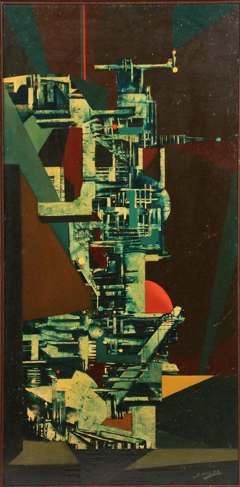 """STANY HOLDA (Poland/Belgium, 1919-1981) - """"Machine - 2"""
