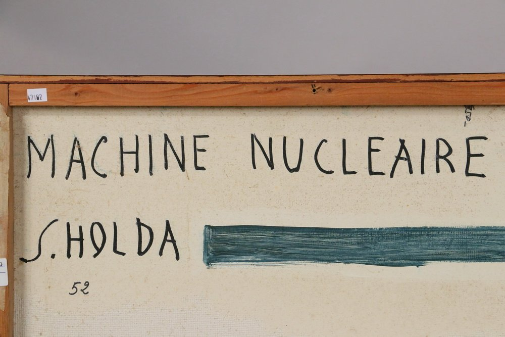 """STANY HOLDA (Poland/Belgium, 1919-1981) - """"Machine - 4"""