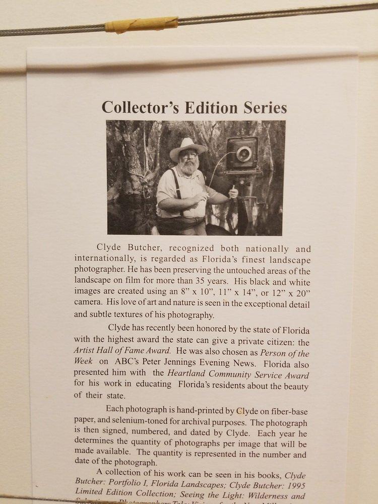 """CLYDE BUTCHER (FL/CA, 1942 - ) - """"Loxahatchee #9"""" - 7"""