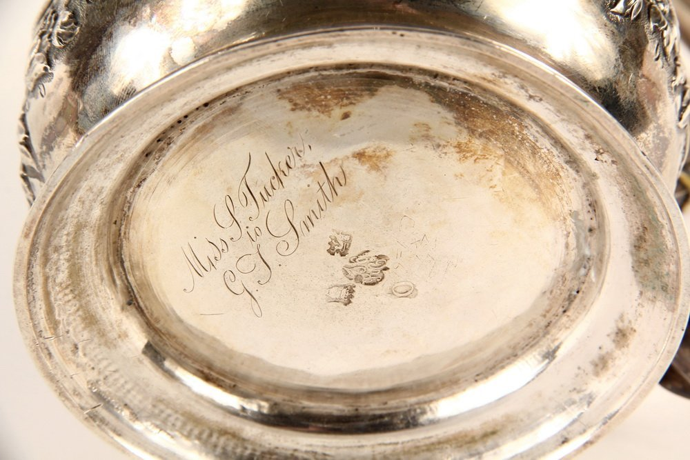 TANKARD - English George II Period Sterling Silver - 3