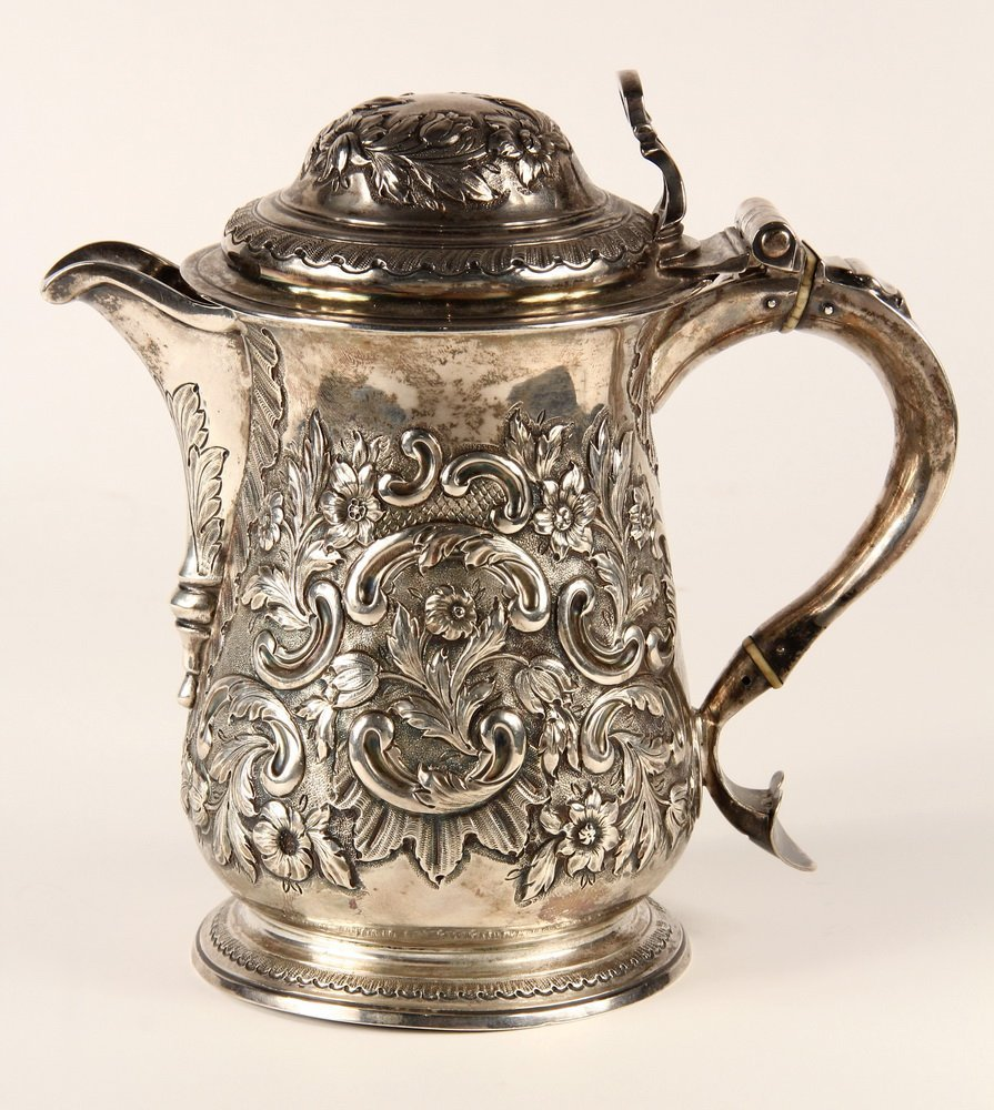 TANKARD - English George II Period Sterling Silver - 4