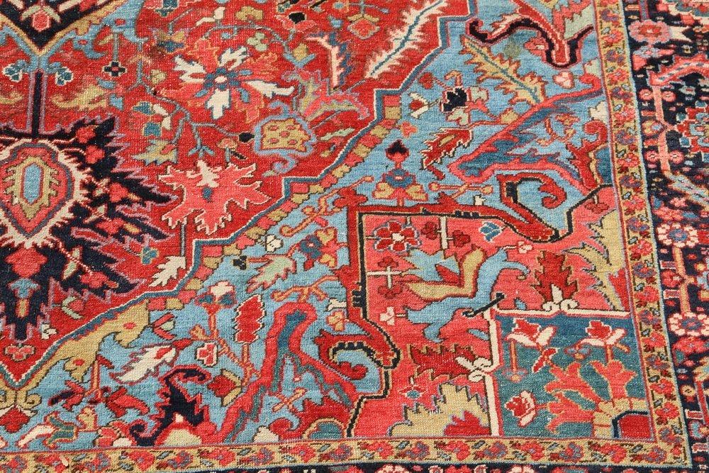 HERIZ CARPET - 9 1/2' x 13' - Northwest Persia, second - 3