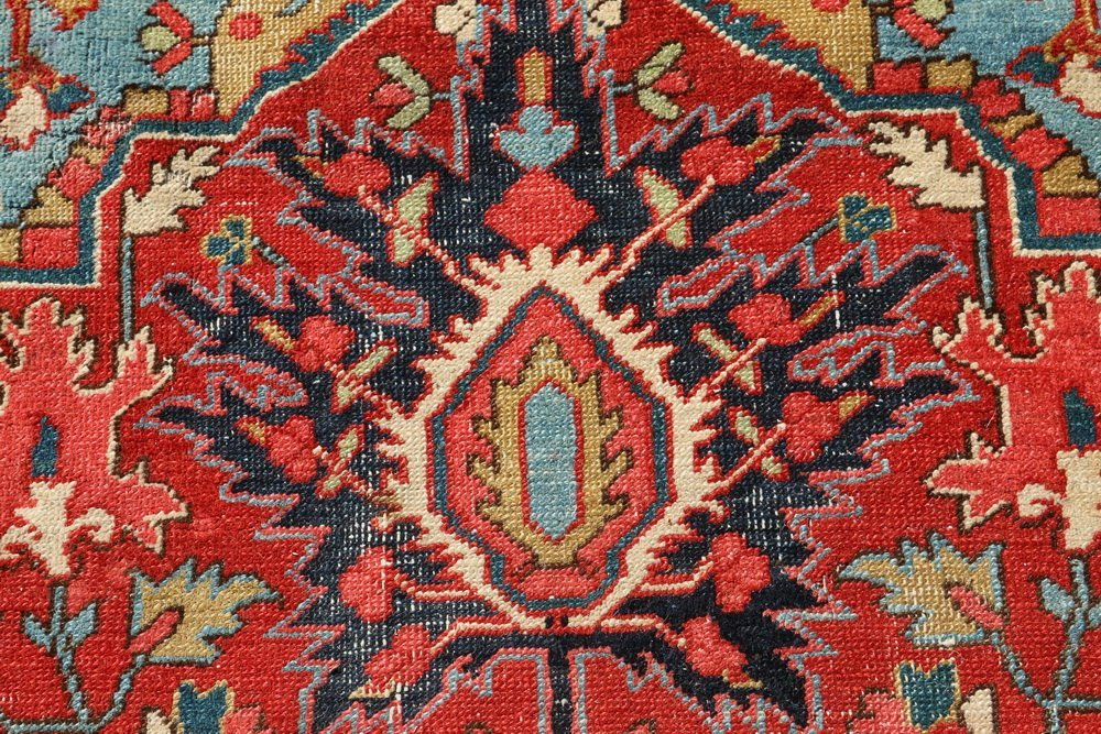 HERIZ CARPET - 9 1/2' x 13' - Northwest Persia, second - 6