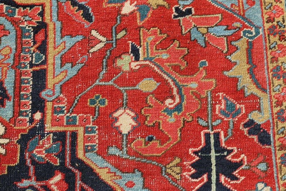 HERIZ CARPET - 9 1/2' x 13' - Northwest Persia, second - 7