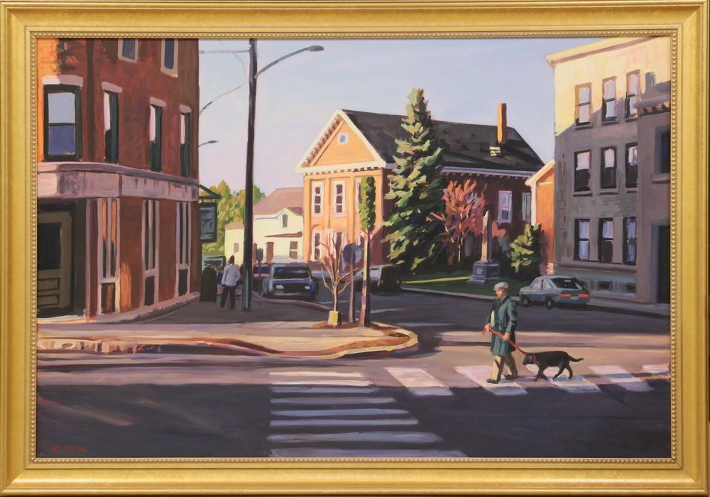 "SCOTT MOORE (DC/ME, 1953 - ) - ""Early Morning Walk,"