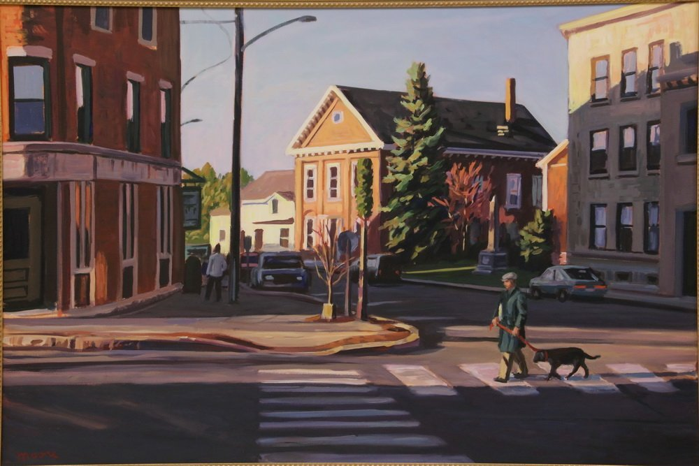 "SCOTT MOORE (DC/ME, 1953 - ) - ""Early Morning Walk, - 2"