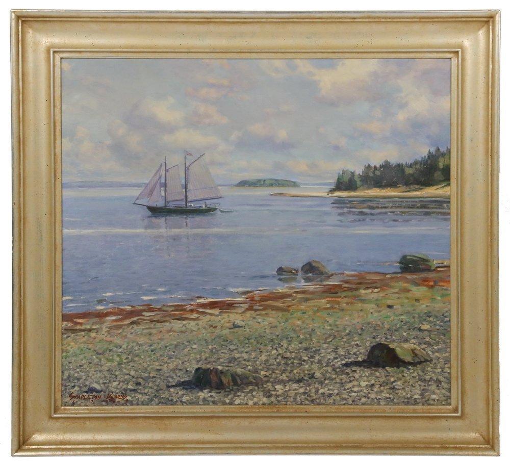 "STAPLETON KEARNS (MA/ME/MN, 1952 - ) - ""Sailing Off"