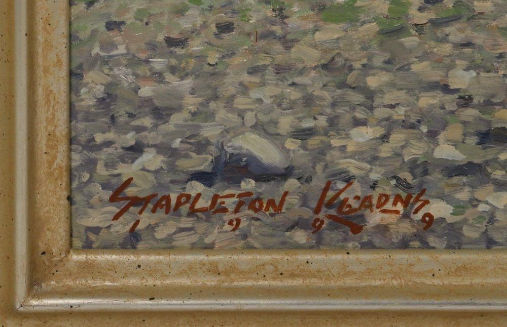 "STAPLETON KEARNS (MA/ME/MN, 1952 - ) - ""Sailing Off - 3"