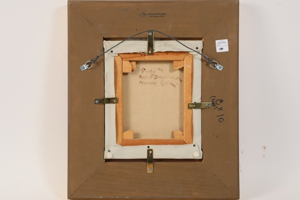 "ROBERT BRACKMAN (NY/CT, 1898-1980) - ""Study #4"" (Blue - 4"