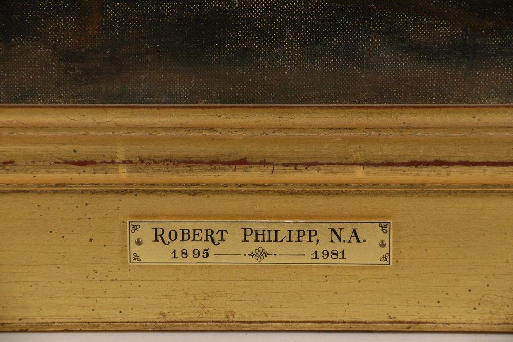 "ROBERT PHILIPP (NY, 1895-1981) - ""Artist's Wife - 3"