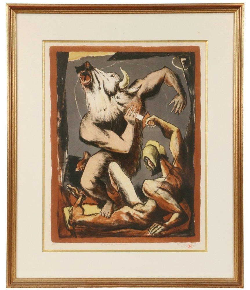 "BENTON MURDOCH SPRUANCE (PA, 1904-1967) - ""Death of the"
