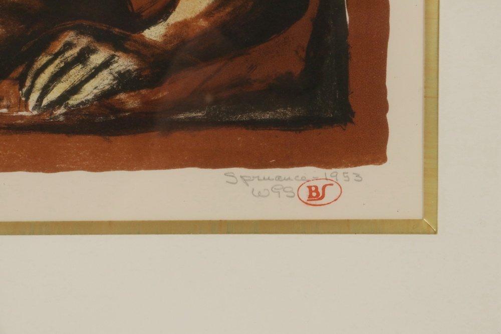 "BENTON MURDOCH SPRUANCE (PA, 1904-1967) - ""Death of the - 4"