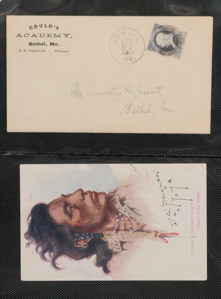 COLLECTION OF (114) POSTAL COVERS - Mid 19th to early - 4
