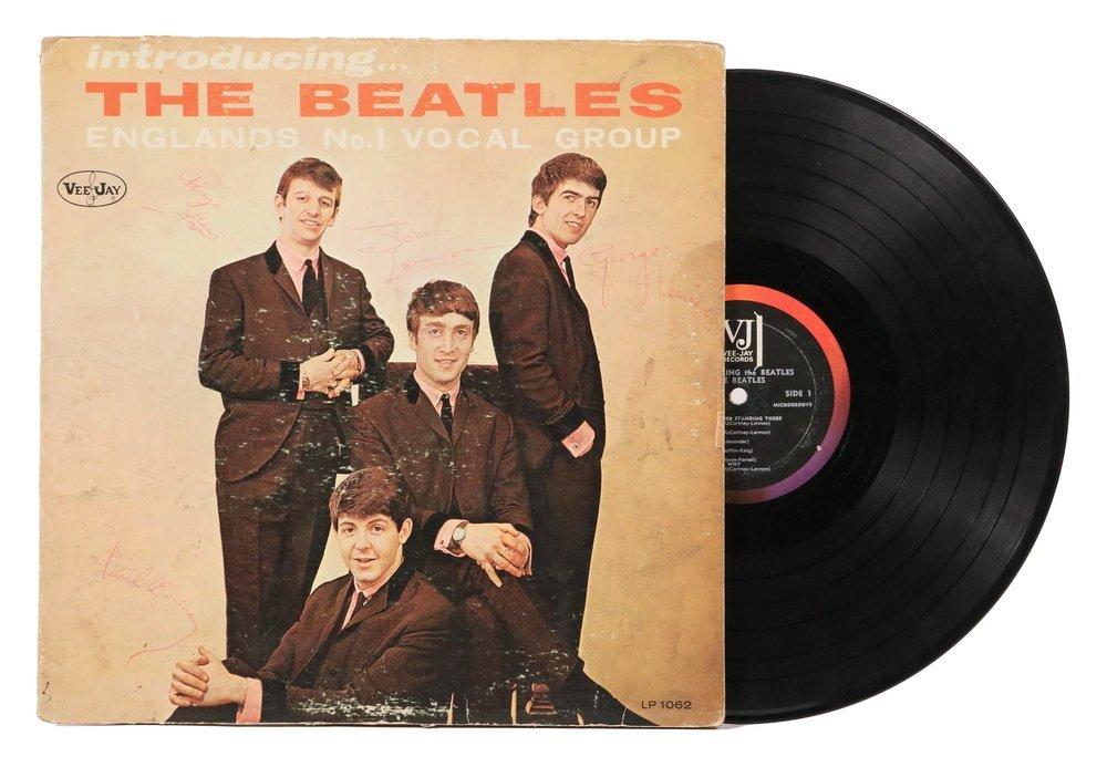 "RAREST OF BEATLES ALBUMS, ""Introducing the Beatles,"