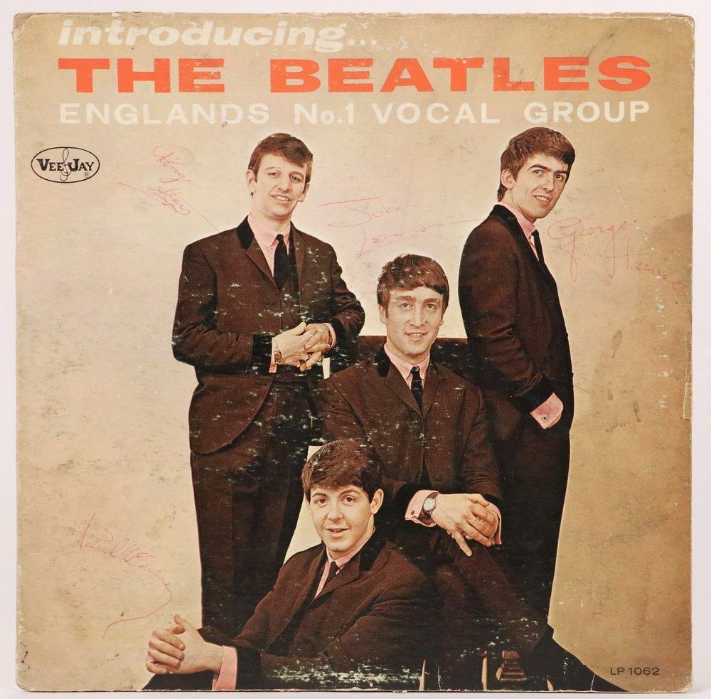"RAREST OF BEATLES ALBUMS, ""Introducing the Beatles, - 2"