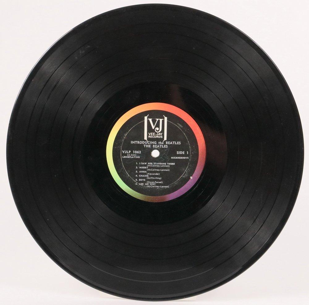 "RAREST OF BEATLES ALBUMS, ""Introducing the Beatles, - 8"