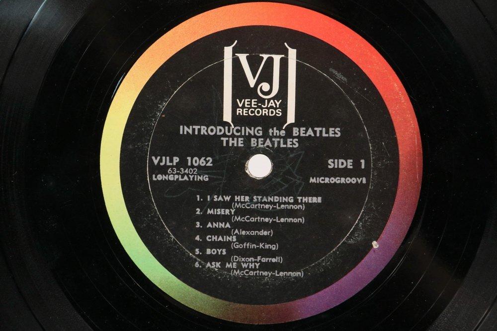 "RAREST OF BEATLES ALBUMS, ""Introducing the Beatles, - 9"