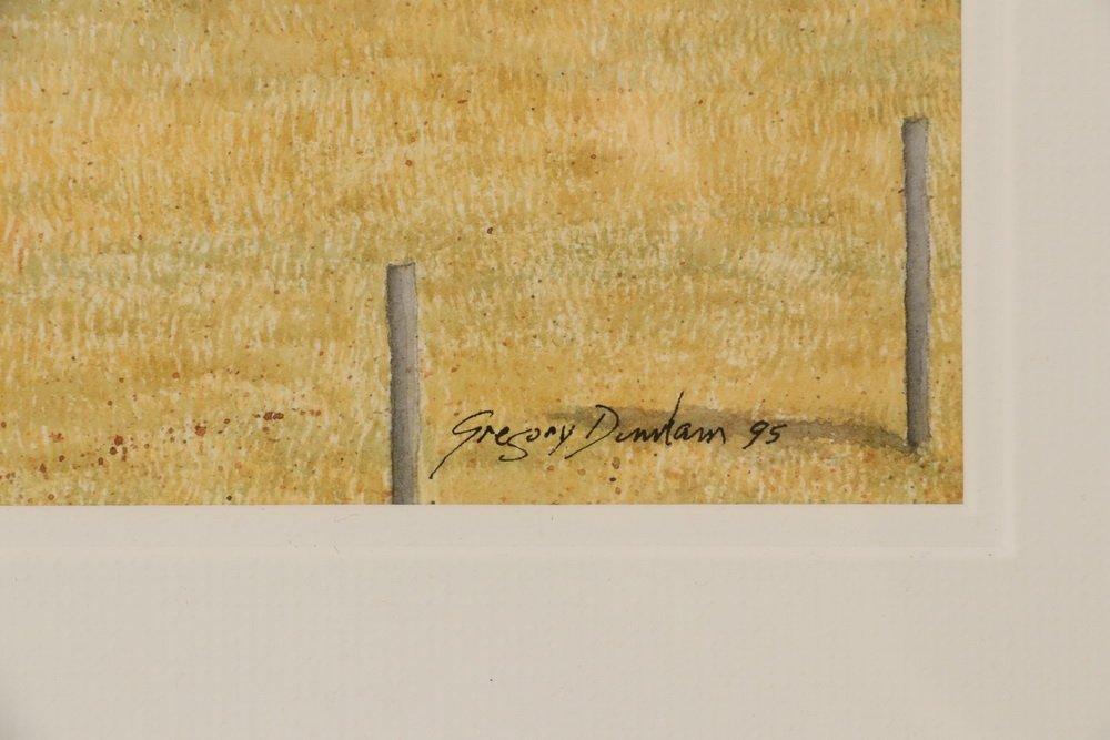 """GREGORY DUNHAM (MA/ME, 1946 - ) - """"Penobscot Farm"""", - 3"""