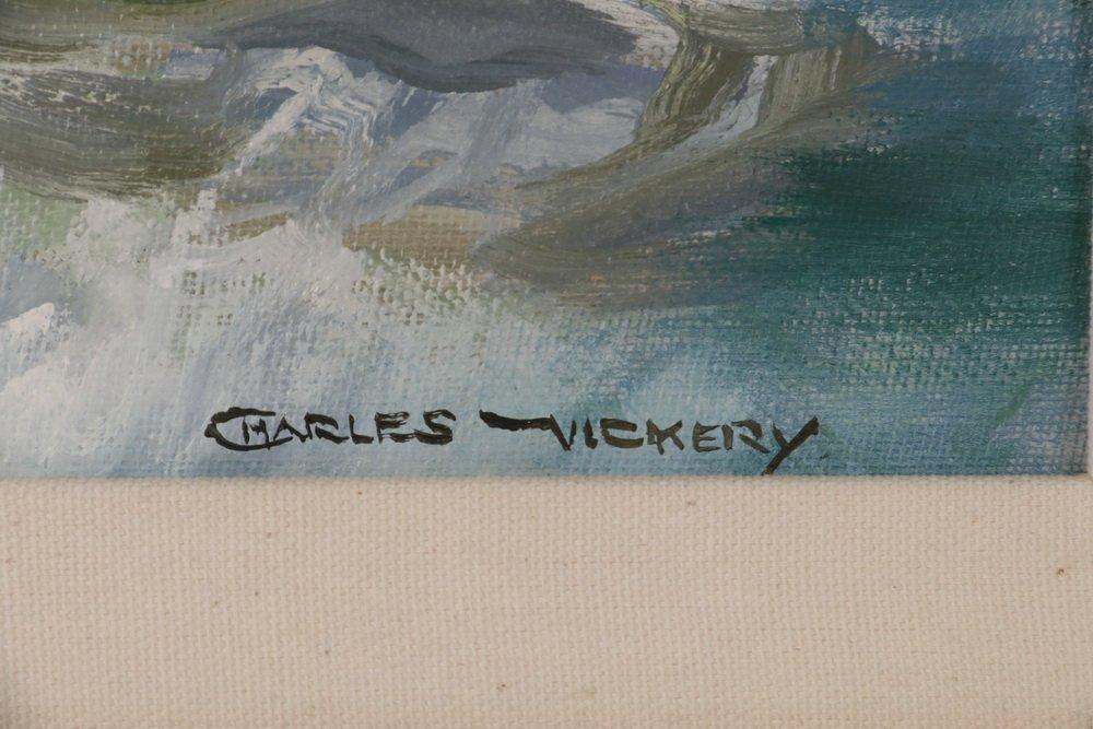 "CHARLES BRIDGEMAN VICKERY (IL, 1913-1998) - ""Fresh - 3"