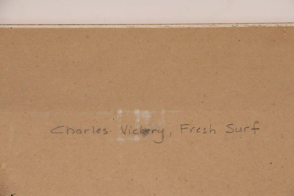 "CHARLES BRIDGEMAN VICKERY (IL, 1913-1998) - ""Fresh - 4"