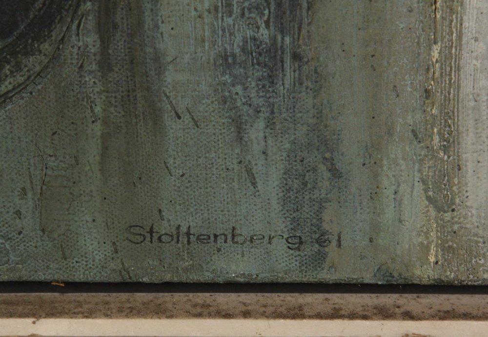 "DONALD STOLTENBERG (WI, 1927 - ) - ""Baroque Ruin"", - 2"