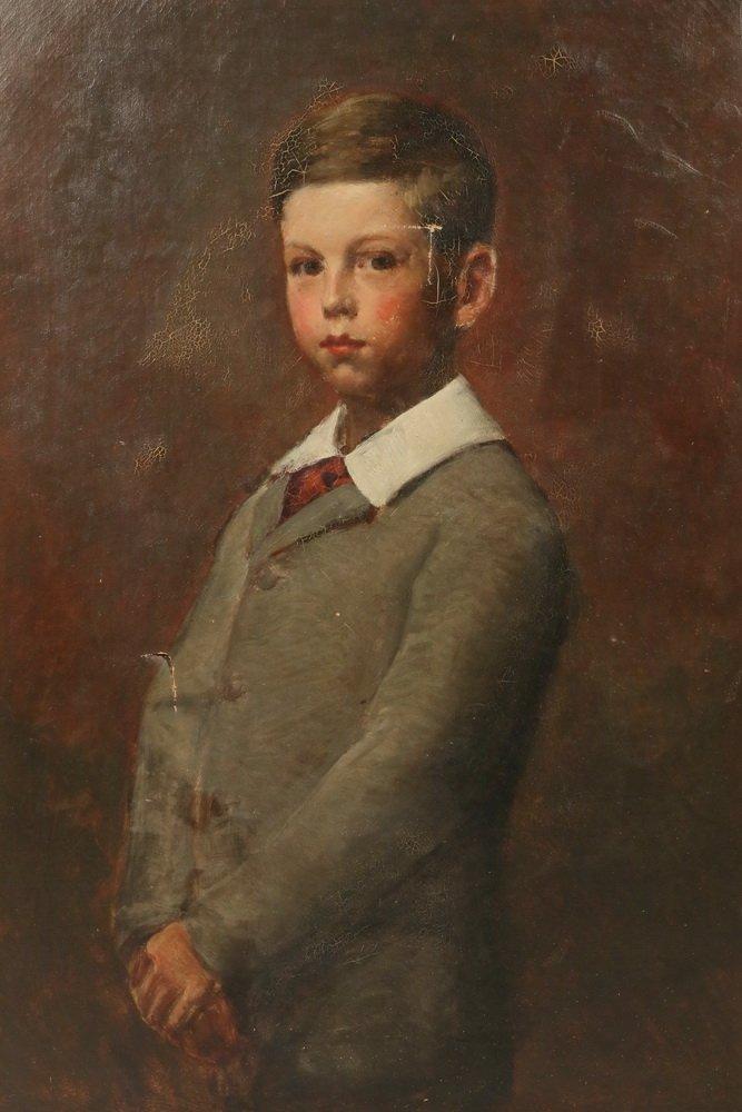 BOSTON SCHOOL - Three-Quarter Length Portrait of a - 2