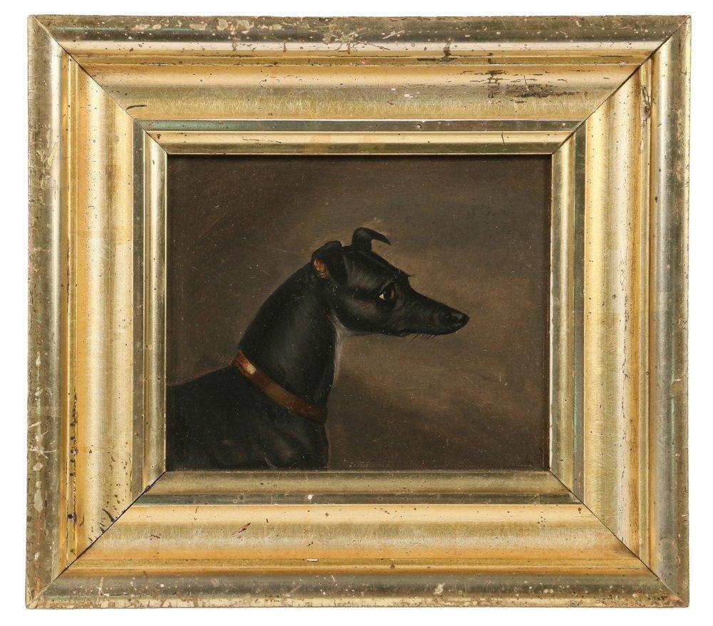 BRITON RIVIERE (UK, 1840-1920) - Study of a Greyhound