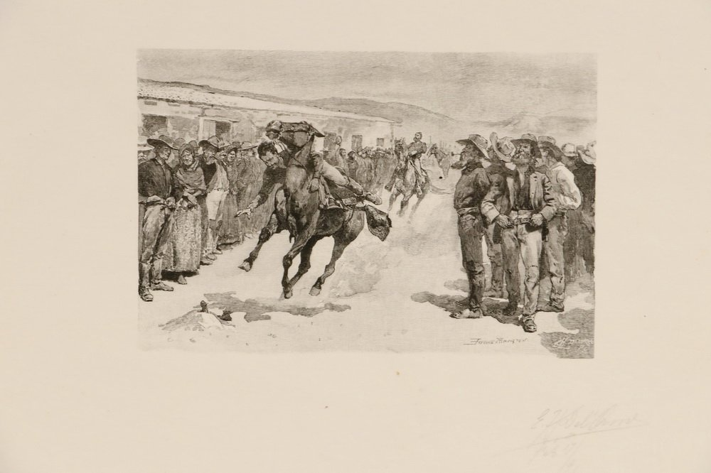 FREDERIC REMINGTON (NY/KS/CT, 1861-1909) - A Collection - 3