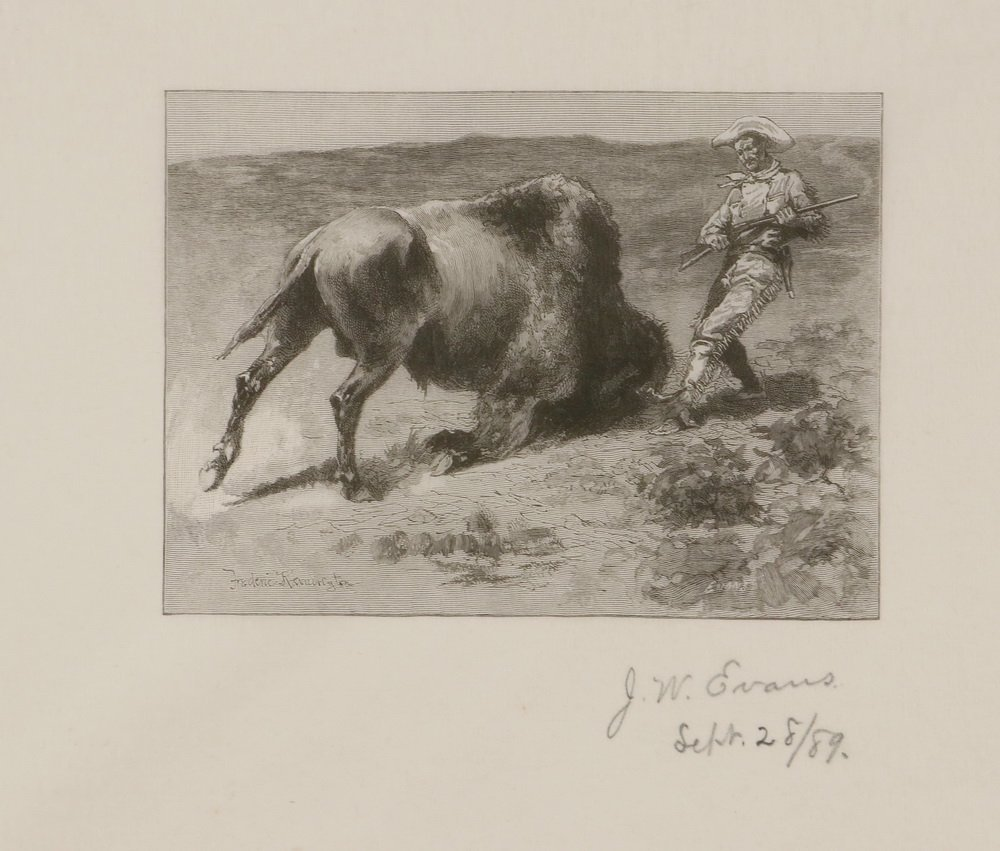 FREDERIC REMINGTON (NY/KS/CT, 1861-1909) - A Collection - 6