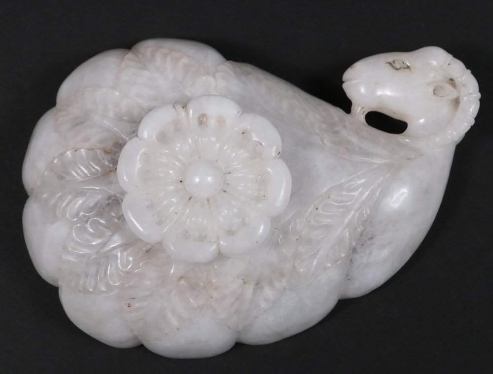 PERSIAN SWEETMEAT DISH - 19th c. Carved Alabaster Dish, - 3