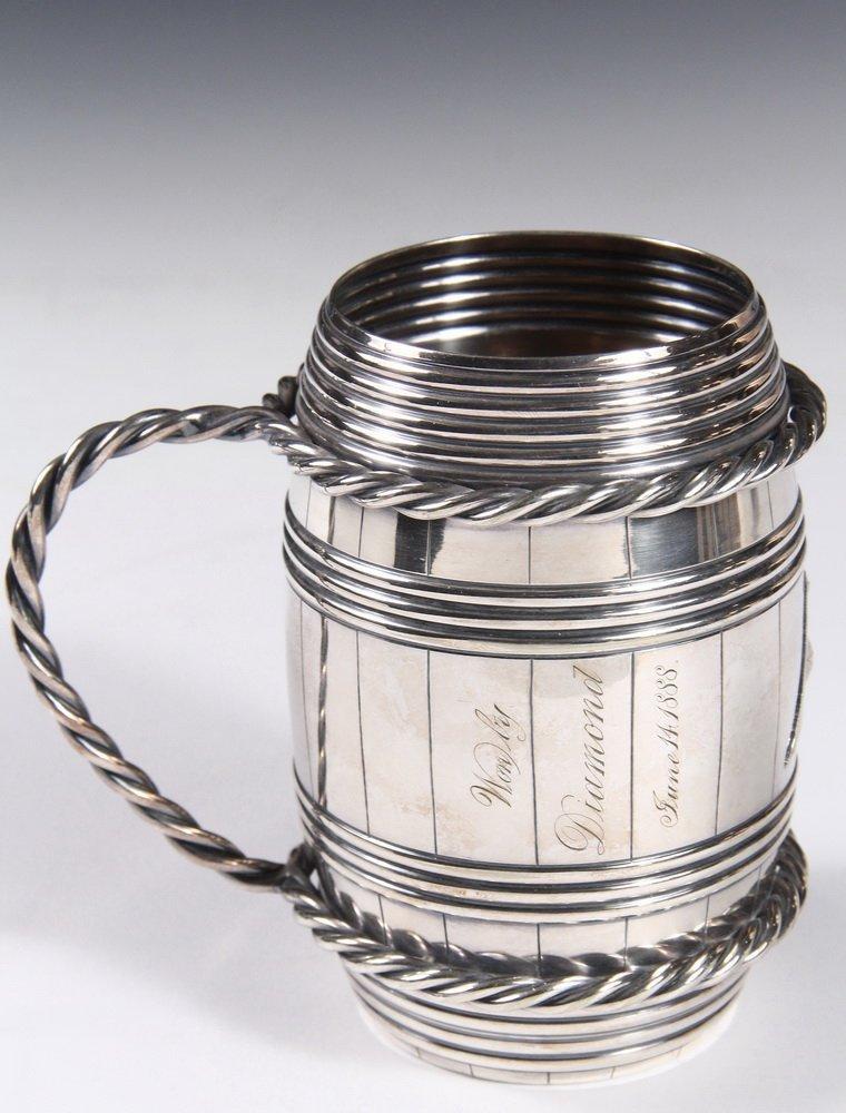 YACHT CLUB TROPHY - Gorham Silver Plated Rhode Island