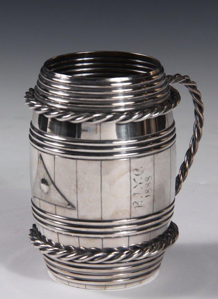YACHT CLUB TROPHY - Gorham Silver Plated Rhode Island - 2